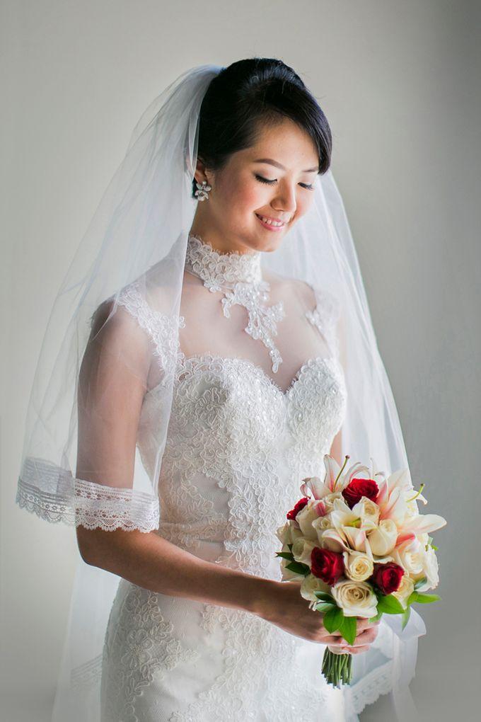 Stacey & Oscar Wedding by Lona Makeup - 002