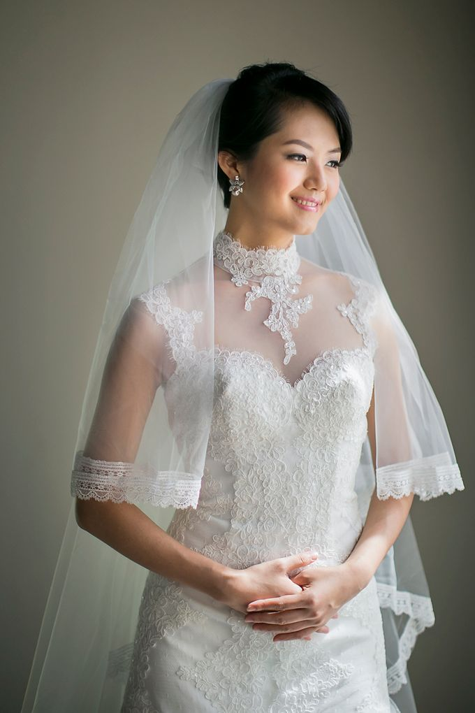Stacey & Oscar Wedding by Lona Makeup - 004