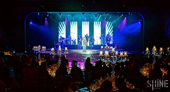 Amazing Wedding in Sporting Monaco by SHINE Live Band - 009