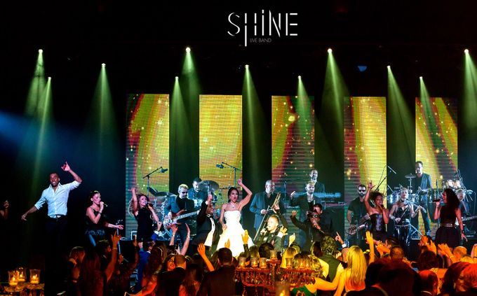 Amazing Wedding in Sporting Monaco by SHINE Live Band - 021