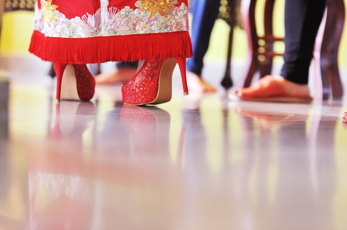 Oriental Chinese Wedding by Christy Ng Shoes - 021