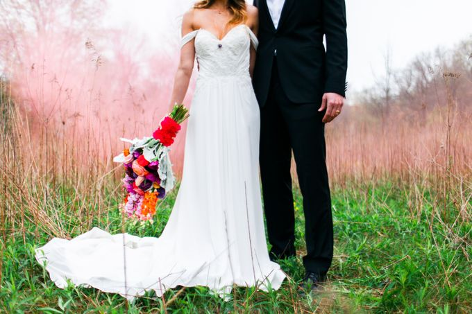 Summer Color Explosion Wedding Styled Shoot by Michelle Sanchie Photography - 001
