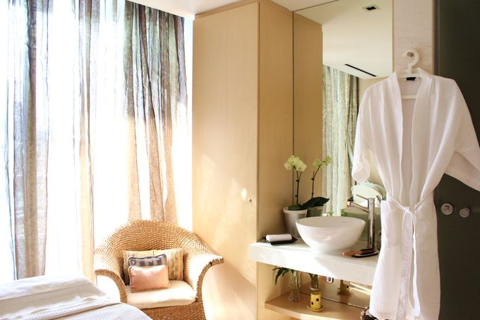 An Oasis of Charmed Tranquility and Luxuriating Pampering for the Dream Bride by ESTHEVA Spa - 012