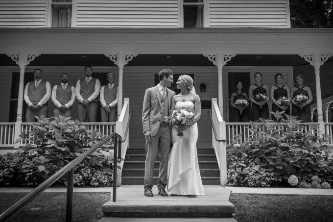 Outdoor Michigan Wedding by Photography by Collette - 015