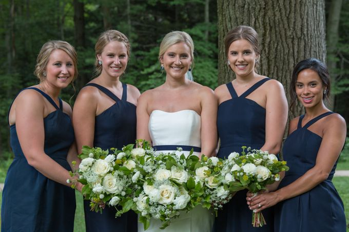 Outdoor Michigan Wedding by Photography by Collette - 016