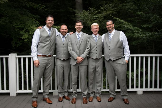 Outdoor Michigan Wedding by Photography by Collette - 017