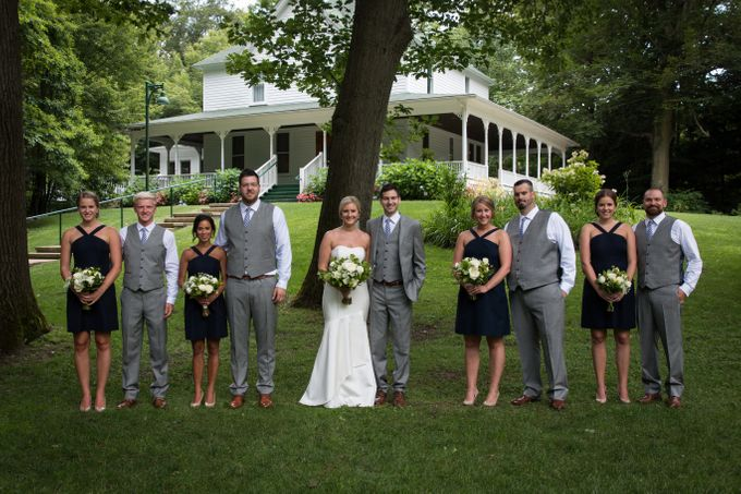 Outdoor Michigan Wedding by Photography by Collette - 019
