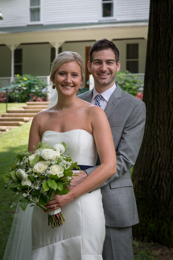 Outdoor Michigan Wedding by Photography by Collette - 021