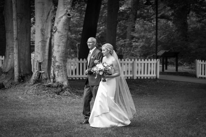 Outdoor Michigan Wedding by Photography by Collette - 024