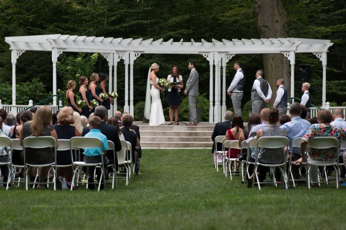 Outdoor Michigan Wedding by Photography by Collette - 026
