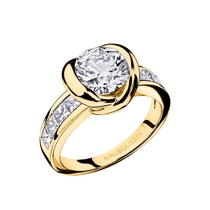 Swan Princess diamond ring by MAUBOUSSIN - 002
