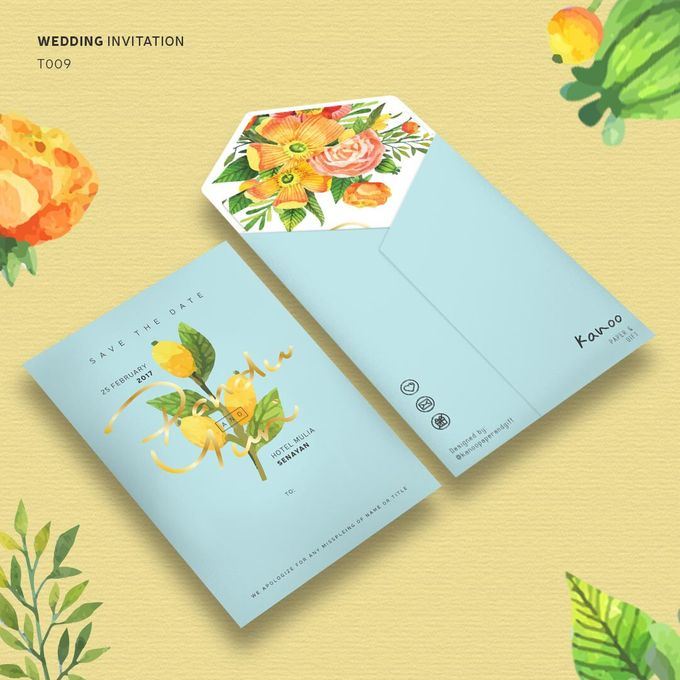 Template 009 by Kanoo Paper & Gift - 001