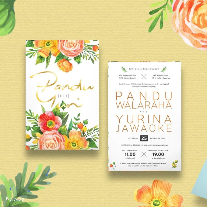 Template 009 by Kanoo Paper & Gift - 002