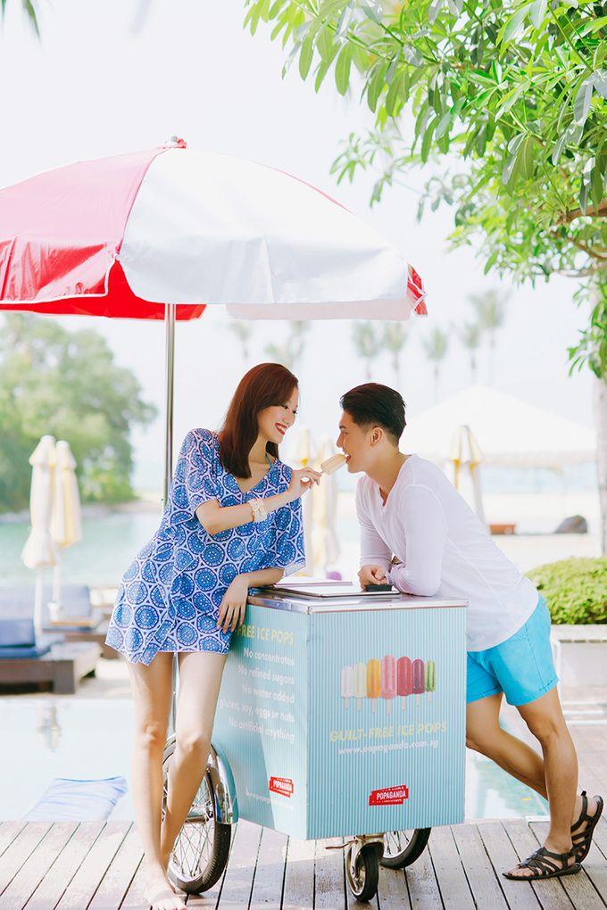 Pop Art Poolside by Everitt Weddings - 012