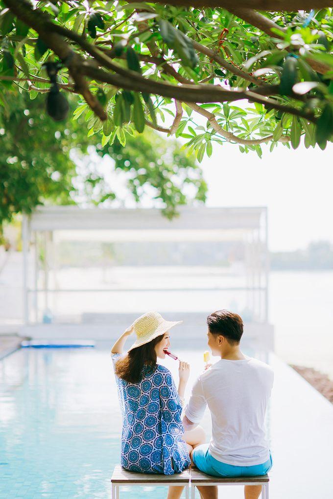Pop Art Poolside by Everitt Weddings - 013