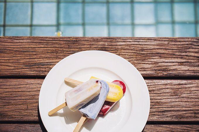 Pop Art Poolside by Everitt Weddings - 019