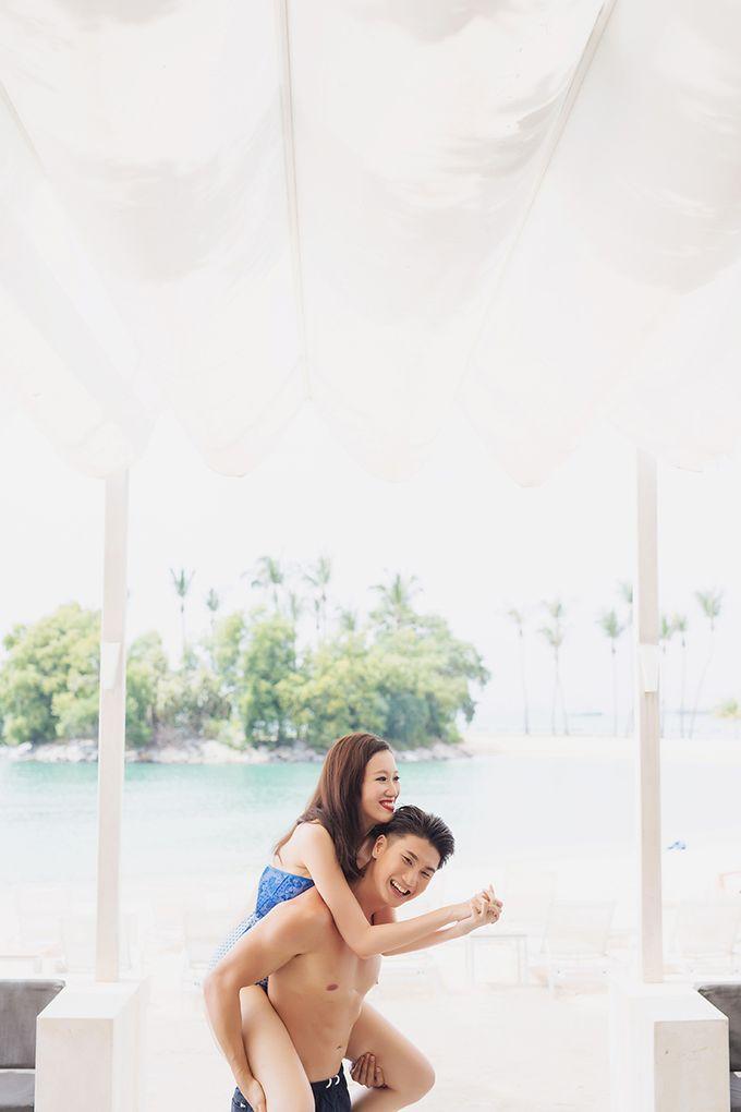 Pop Art Poolside by Everitt Weddings - 031