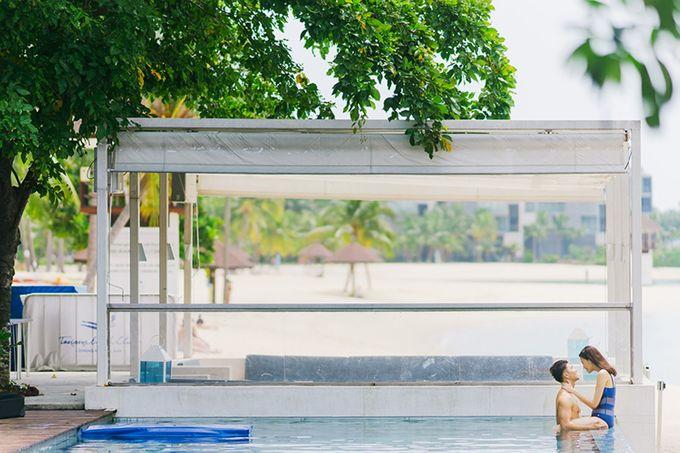 Pop Art Poolside by Everitt Weddings - 047