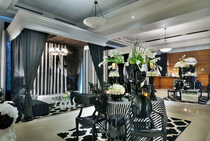 Intimate Wedding at Lobby Lounge by The Dharmawangsa Jakarta - 005