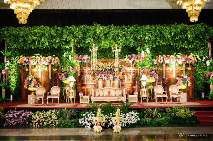 The Wedding of Rizqi & Diar by The Wagyu Story - 021