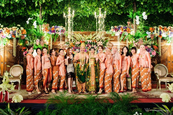 The Wedding of Rizqi & Diar by The Wagyu Story - 034