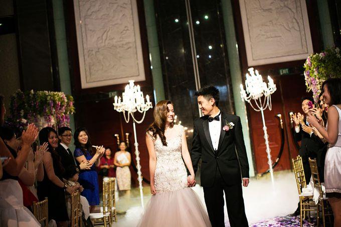 Art Deco Wedding Celebrations in Shangri-La Island Ballroom by ShiLi & Adi - 002