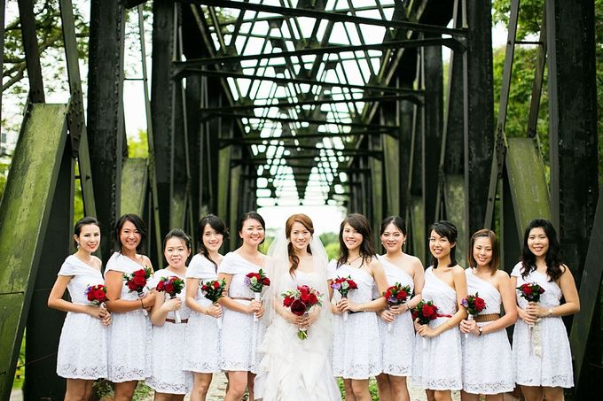 Art Deco Wedding Celebrations in Shangri-La Island Ballroom by ShiLi & Adi - 004