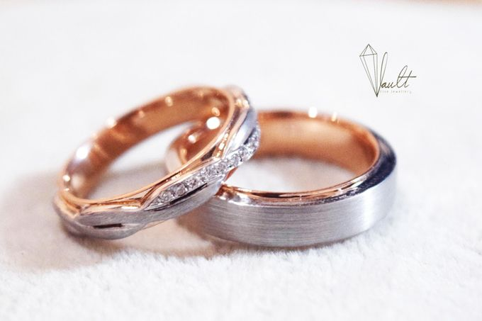TW & ZY Bespoke Wedding Bands by Vault Fine Jewellery - 003