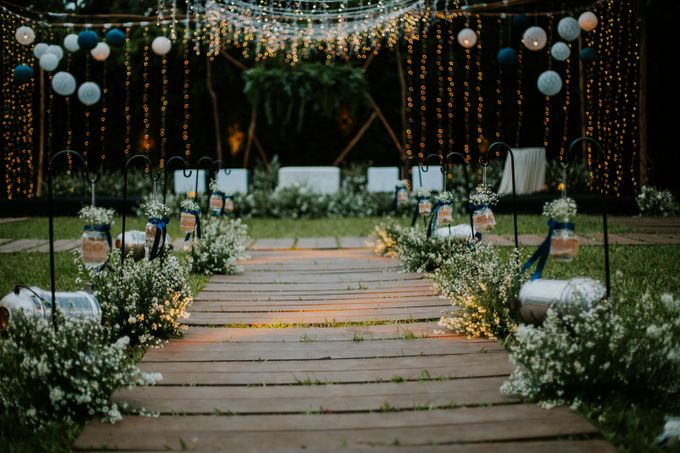 Constelation Themed Wedding of Sid & Zindy at Maxis Resto by Elior Design - 018