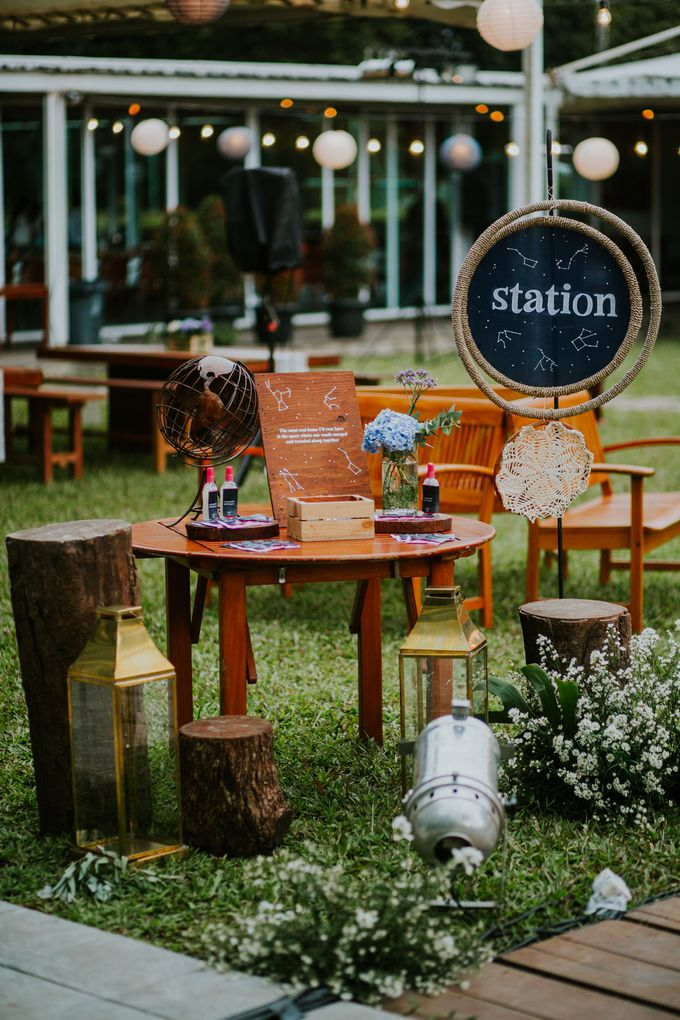 Constelation Themed Wedding of Sid & Zindy at Maxis Resto by Elior Design - 020