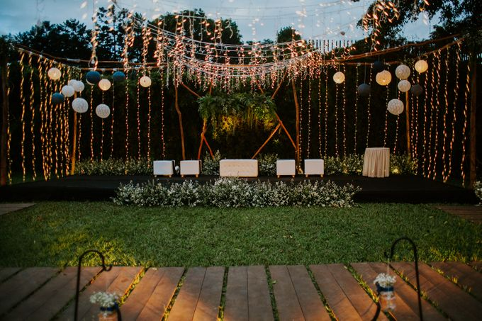 Constelation Themed Wedding of Sid & Zindy at Maxis Resto by Elior Design - 029