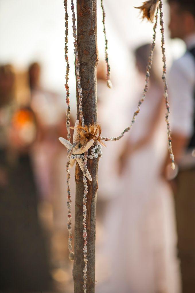 Bohemian Jewish Beach Wedding by Luxury Events Phuket - 015