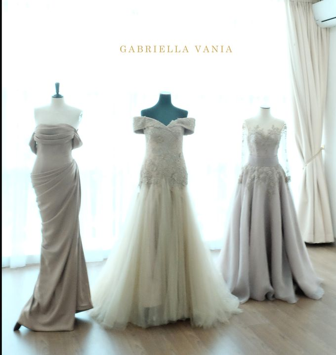 Family Gowns (Mother / Sister Gown) by GV by Gabriella Vania - 012