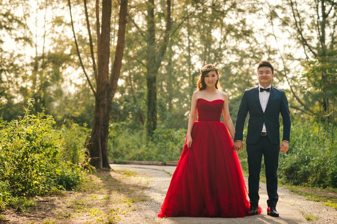 Engagement Shoot for Terence and Huiling by Susan Beauty Artistry - 007