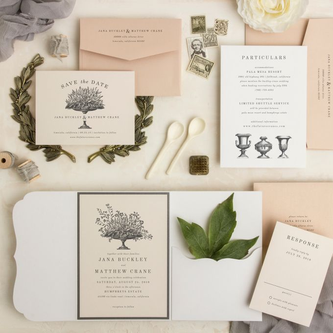 New Wedding Designs by Paper Pressed  - 001
