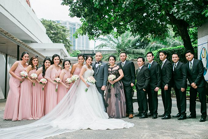 The Bellevue Manila Wedding by Lloyed Valenzuela Photography - 046