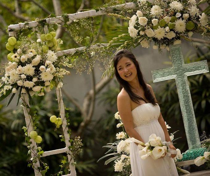 kayumanis jimbaran-wedding ceremony-garden by Kayumanis Private Villa and Spa - 022
