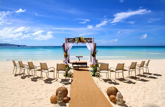 Beach Wedding at The District Boracay by The District Boracay - 001