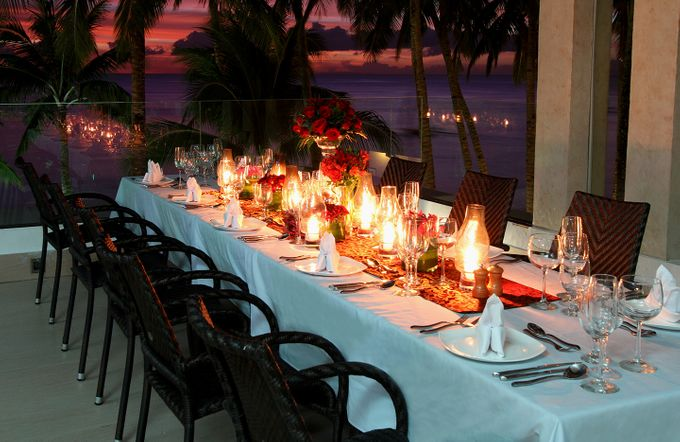 Wedding at the Roof Deck by The District Boracay - 005