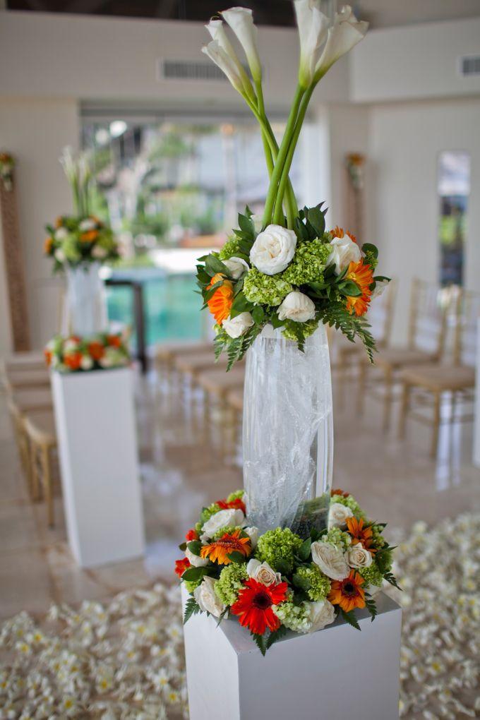 DANIEL & VAVIA WEDDING by The Seminyak Beach Resort & Spa - 003