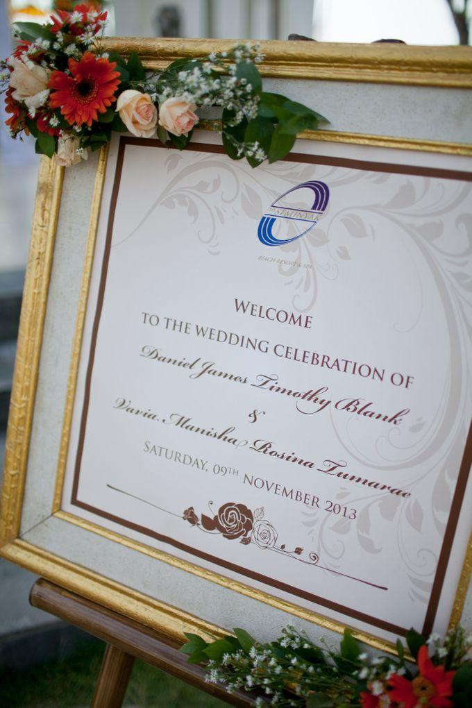 DANIEL & VAVIA WEDDING by The Seminyak Beach Resort & Spa - 004