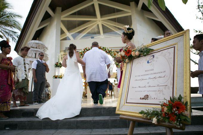 DANIEL & VAVIA WEDDING by The Seminyak Beach Resort & Spa - 008