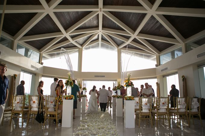 DANIEL & VAVIA WEDDING by The Seminyak Beach Resort & Spa - 011