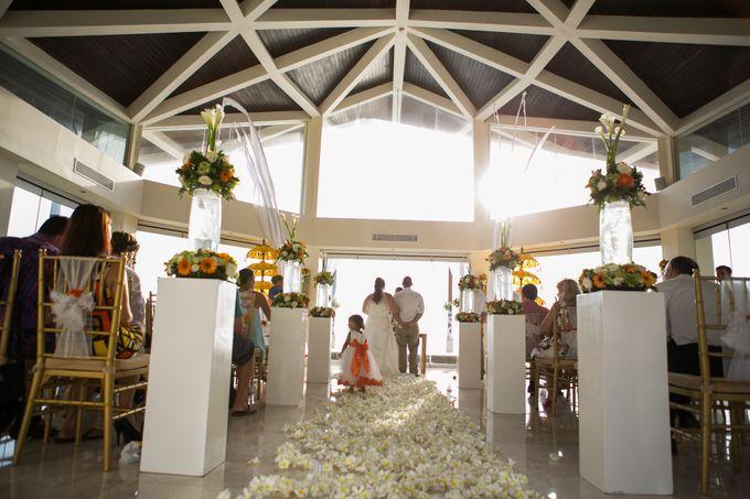 DANIEL & VAVIA WEDDING by The Seminyak Beach Resort & Spa - 012