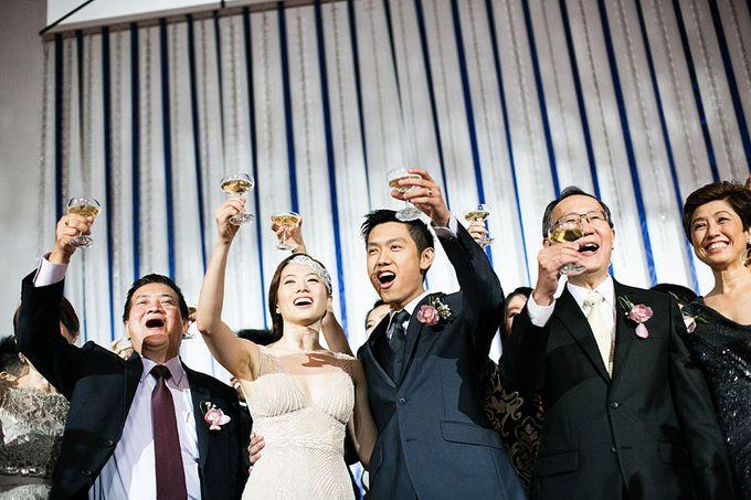 Art Deco Wedding Celebrations in Shangri-La Island Ballroom by ShiLi & Adi - 006
