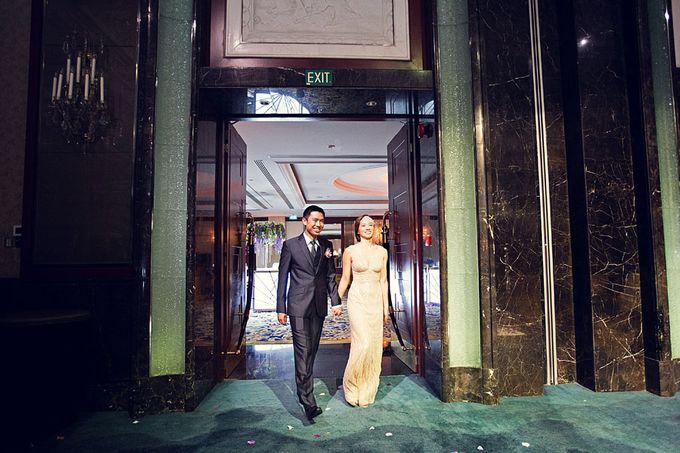 Art Deco Wedding Celebrations in Shangri-La Island Ballroom by ShiLi & Adi - 007