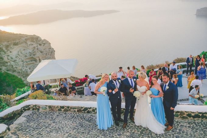 An elegant off white and peach wedding by MarrymeinGreece - 023