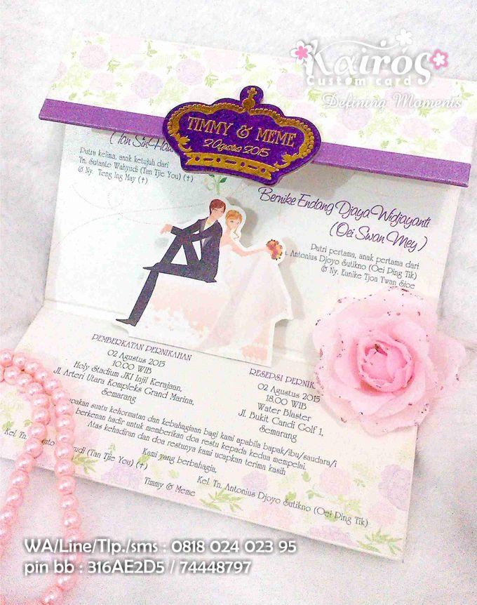 Wedding Invitation by Kairos Wedding Invitation - 007