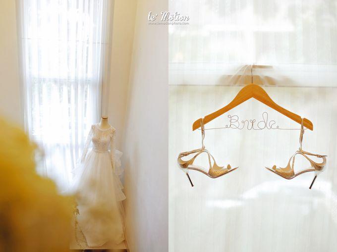 Tisya & Ferry - International Wedding by Imelda Hudiyono Bride - 001