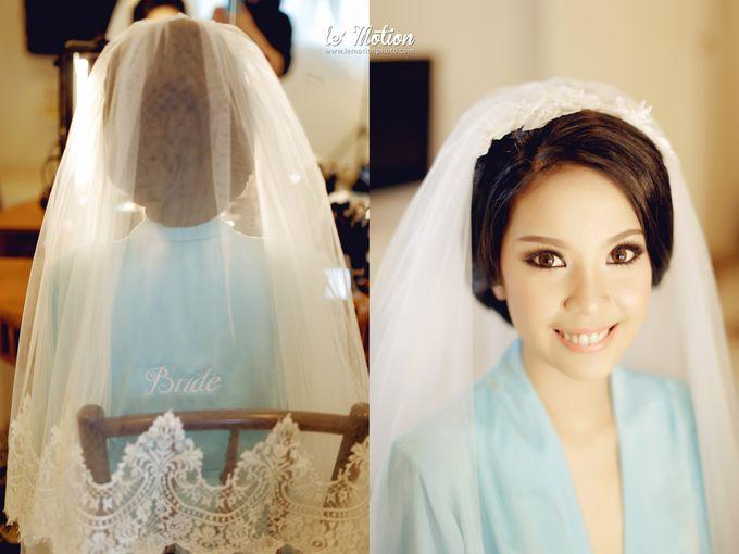 Tisya & Ferry - International Wedding by Imelda Hudiyono Bride - 005